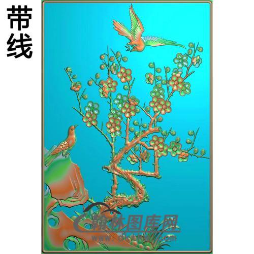 梅花1精雕图(MH-296)