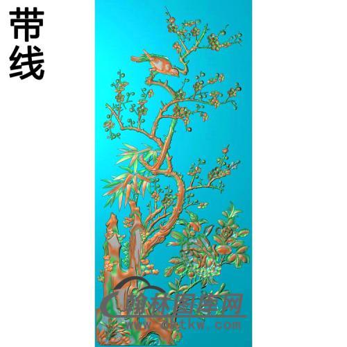 梅兰菊竹137_AUTOSAVE精雕图(MH-351)