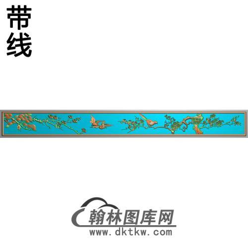 下门梅花精雕图(MH-368)