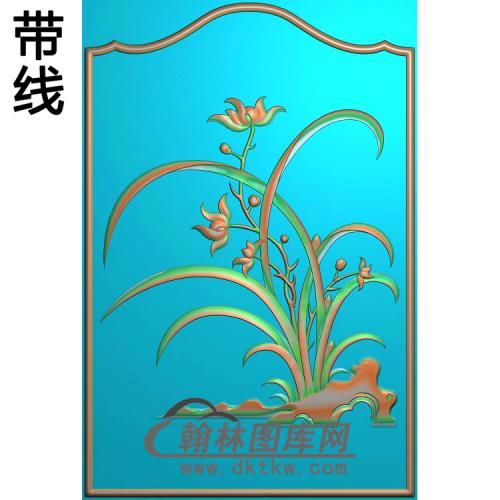 LH-003-兰花精雕图(LH-042)