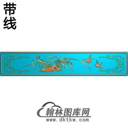 LH-6005大台前上小板兰精雕图(LH-098)