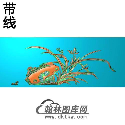 兰花-989898精雕图(LH-123)