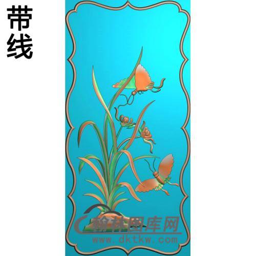兰花精雕图(LH-119)