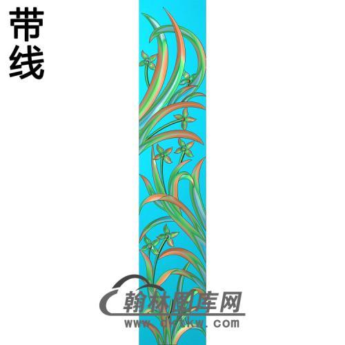 梅兰菊竹001_AUTOSAVE精雕图(LH-132)