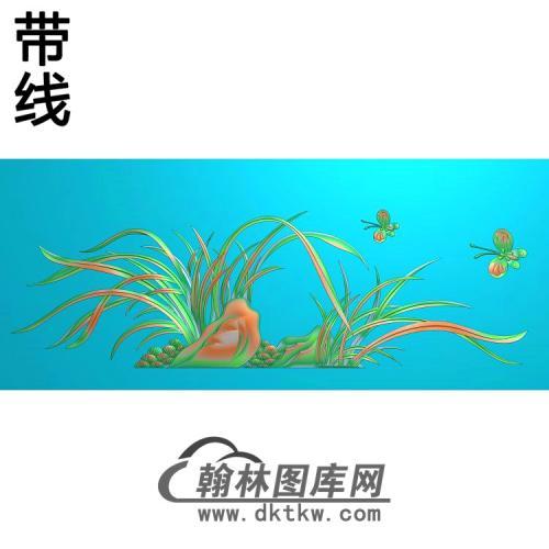 梅兰菊竹009_AUTOSAVE精雕图(LH-133)