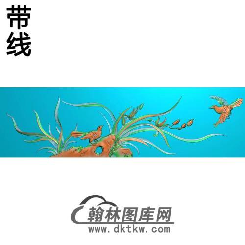 梅兰菊竹055_AUTOSAVE精雕图(LH-136)