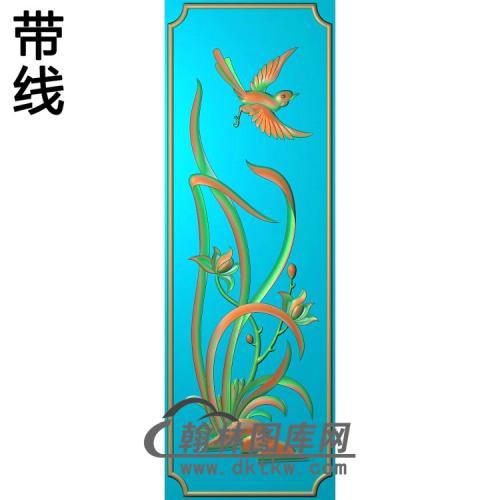 梅兰菊竹083_AUTOSAVE精雕图(LH-137)