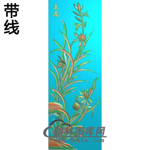 梅兰菊竹189_AUTOSAVE精雕图(LH-142)