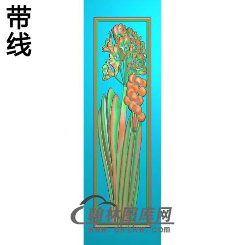 梅兰菊竹214_AUTOSAVE精雕图(LH-144)