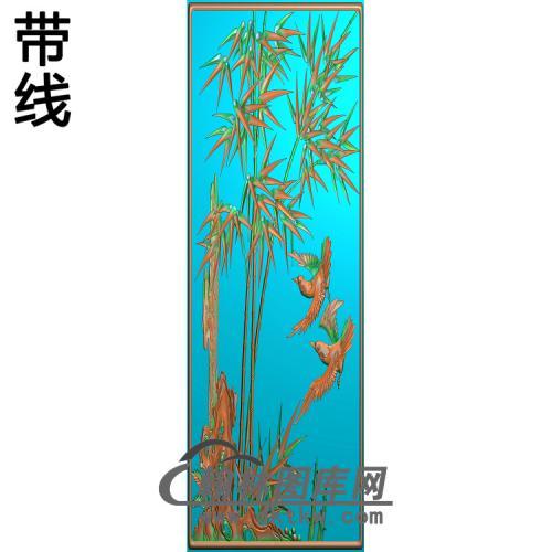 ZZ-015-鸟竹精雕图(ZZ-171)