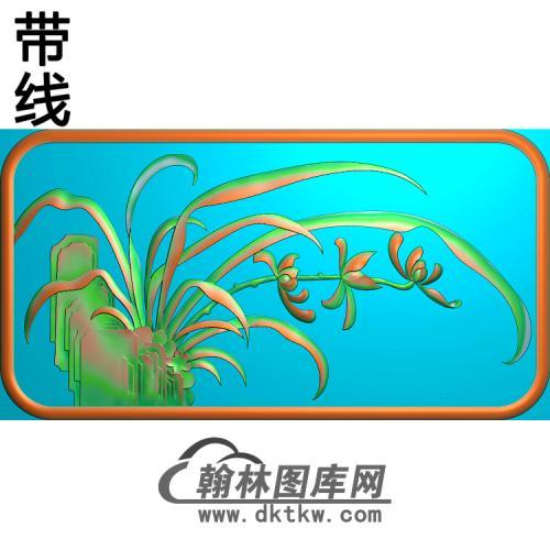 竹子 (3)精雕图(ZZ-292)