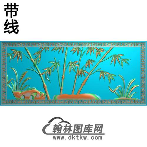 竹子 (5)精雕图(ZZ-293)