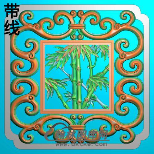 竹子 (6)精雕图(ZZ-294)