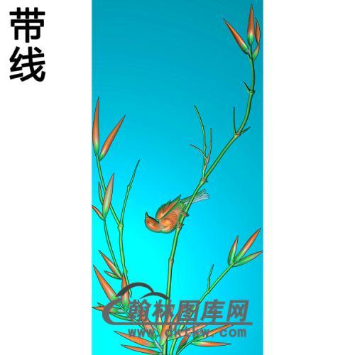 竹子 (10)精雕图(ZZ-297)