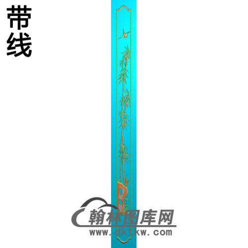 竹子 (11)精雕图(ZZ-298)