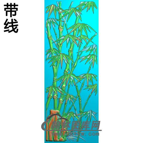 竹子(修改)精雕图(ZZ-302)