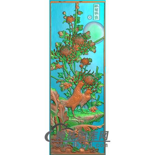 菊花精雕图(JH-106)