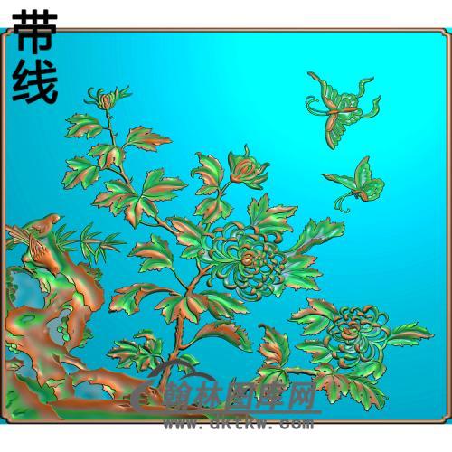 菊花精雕图(JH-153)