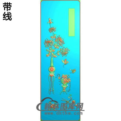 百年好合顶箱柜菊花长(JH-237)