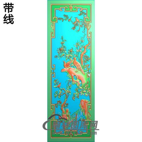 顶箱柜菊花8(JH-245)