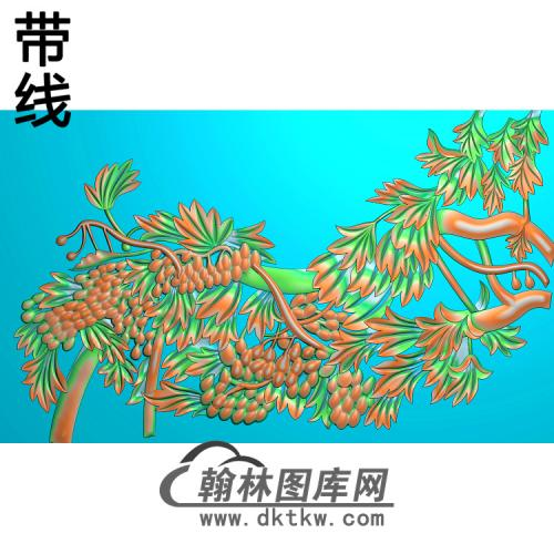 花草007_AUTOSAVE精雕图(PT-019)