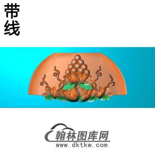 葡萄椅脑反精雕图(PT-031)