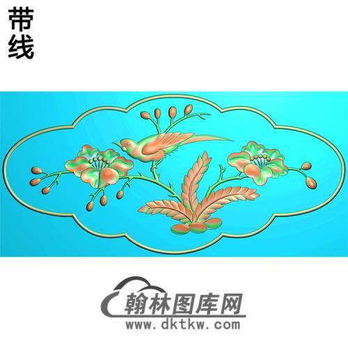 HD-010-花草动物系列精雕图(ZHN-014)