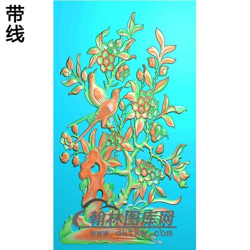 HD-127-花草动物系列精雕图(ZHN-054)