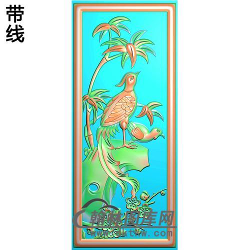 HD-129-花草动物系列精雕图(ZHN-055)