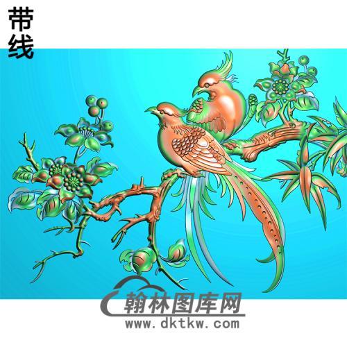 HD-215-花草动物系列精雕图(ZHN-075)