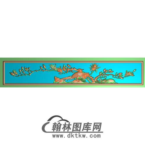 HN-227-玉兰鸟无线精雕图(ZHN-096)