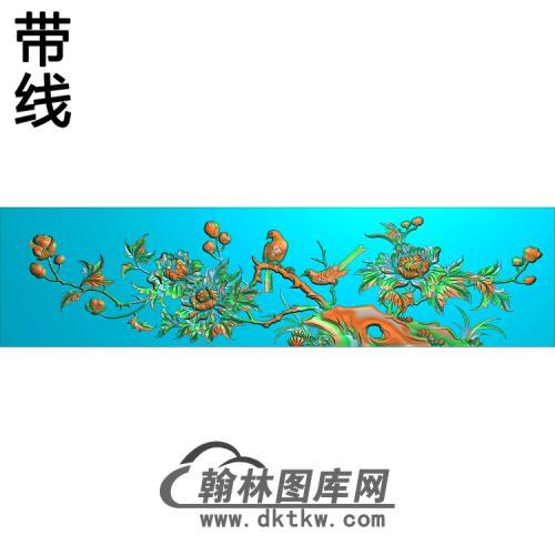 HN-457-花鸟精雕图(ZHN-107)