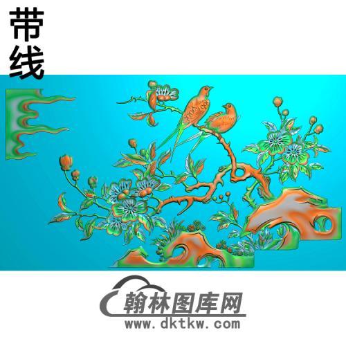 HN-458-海棠莺25精雕图(ZHN-108)