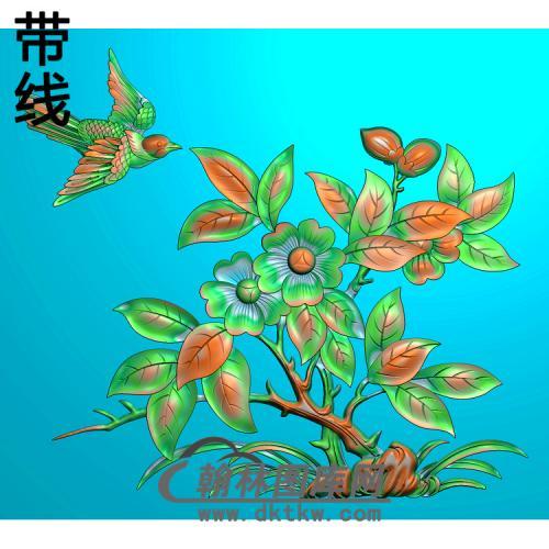 HN-533花鸟精雕图(ZHN-120)