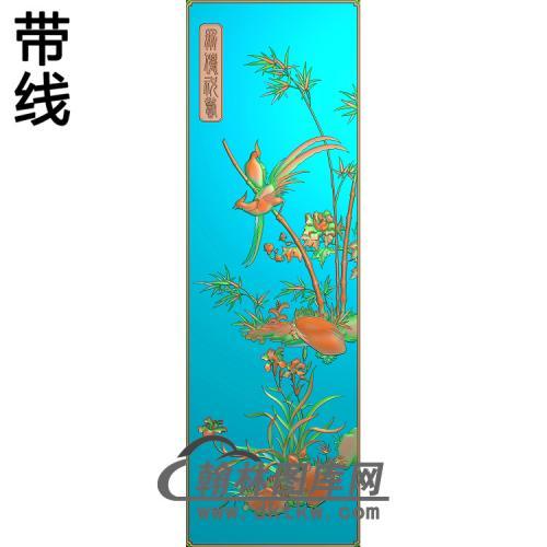 大门1精雕图(ZHN-194)
