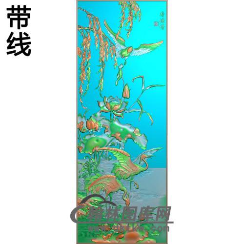 河塘情52精雕图(ZHN-195)