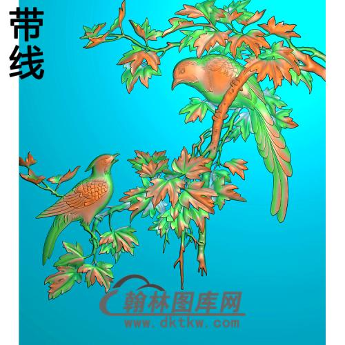 思雨精雕图(ZHN-210)