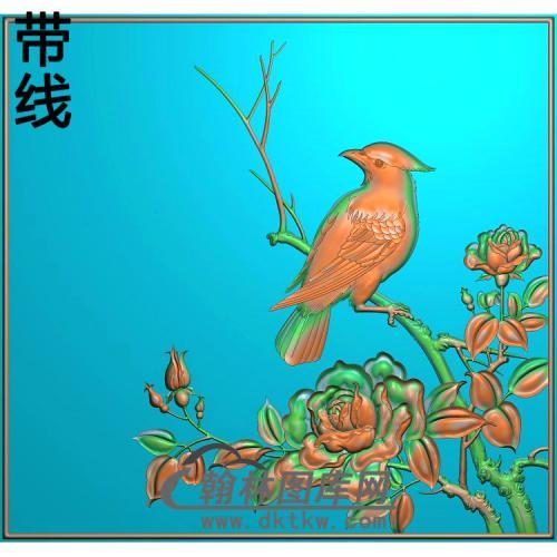 上门板4精雕图(YG-011)