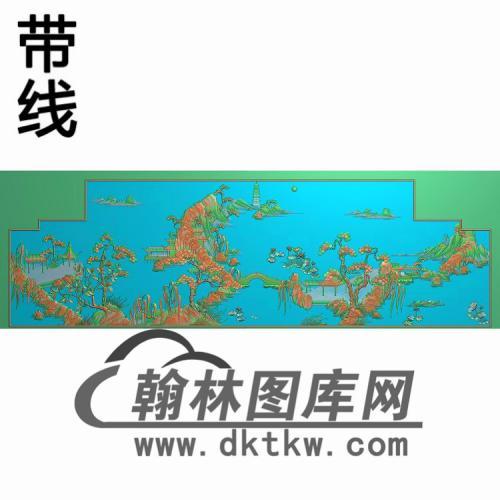 D054无线精雕图(CTBB-020)