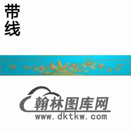 HN-2236花鸟有线精雕图(CTBB-023)