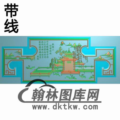 SSJZ-2001三潭印月精雕图(CTBB-028)