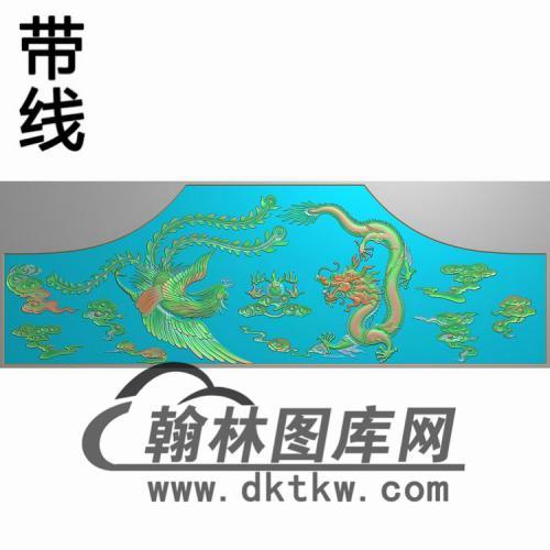 龙凤大床精雕图(CTBB-038)