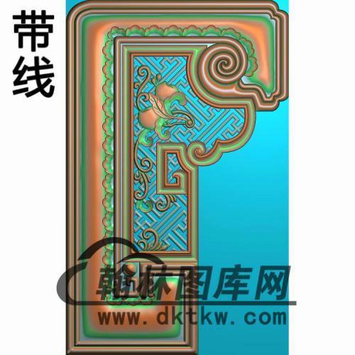 扶手前板 (2)精雕图(FS-086)