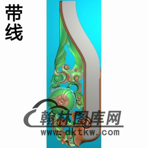 扶手上精雕图(FS-089)