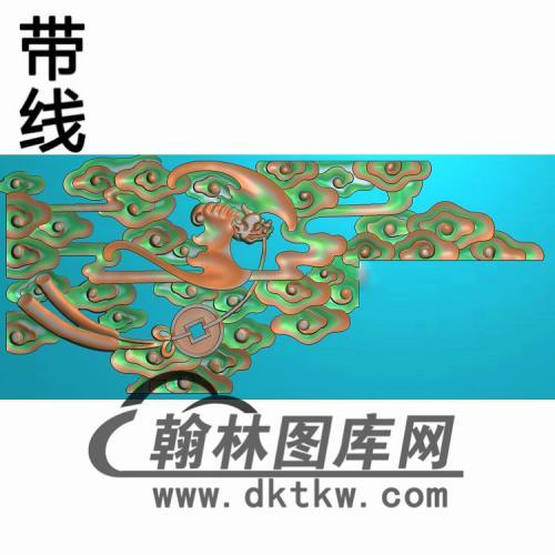 沙发扶手精雕图(FS-107)