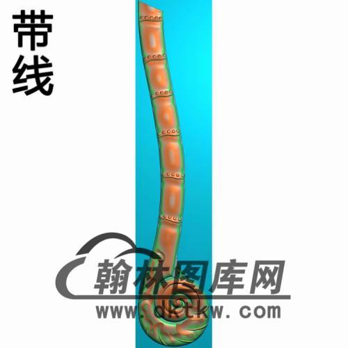 竹扶手精雕图(FS-114)
