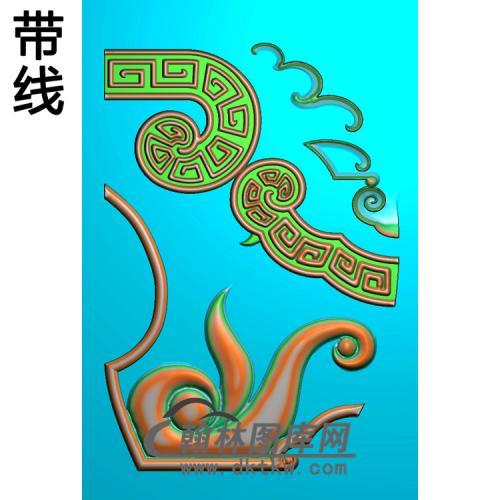 TJYB-153罗汉床.脚精雕图(HJ-006)