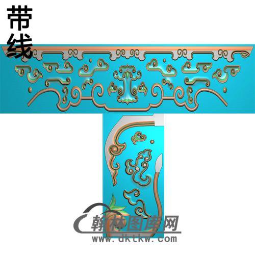 TJYB-1016-梳妆台脚精雕图(HJ-021)
