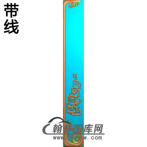 TJYB-1346-大如意高几脚精雕图(HJ-022)