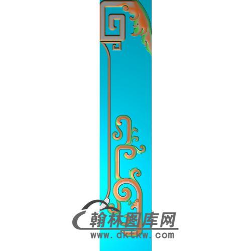 八宝高几脚无线精雕图(HJ-036)